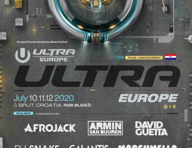 Lineup 2020, headlines 2020, festiwal Ultra Europe